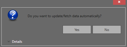 Fetch data automatically