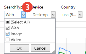 Data Fetching - Search Type