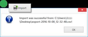 Data Set - Import