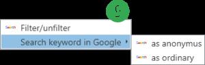 Data Set - Search Google