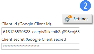 Other Features - Google Client ID
