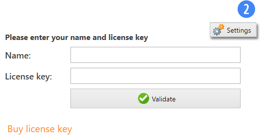 Other Features - Buy License
