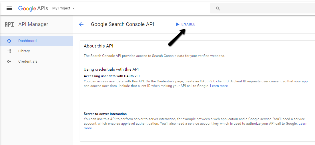 How to setup and use your own Google API Key