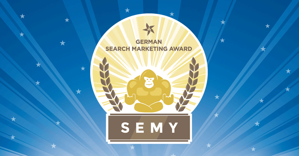 SEMY 2017 SEO Software Innovation award